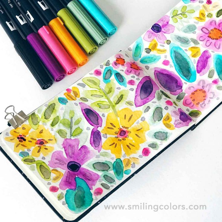 How to Paint Easy Flowers