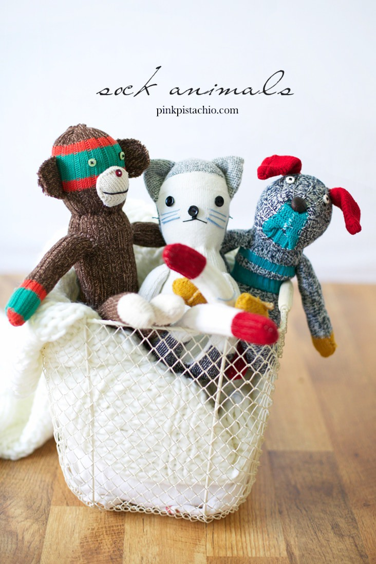 Sock Animals Plushie Toys