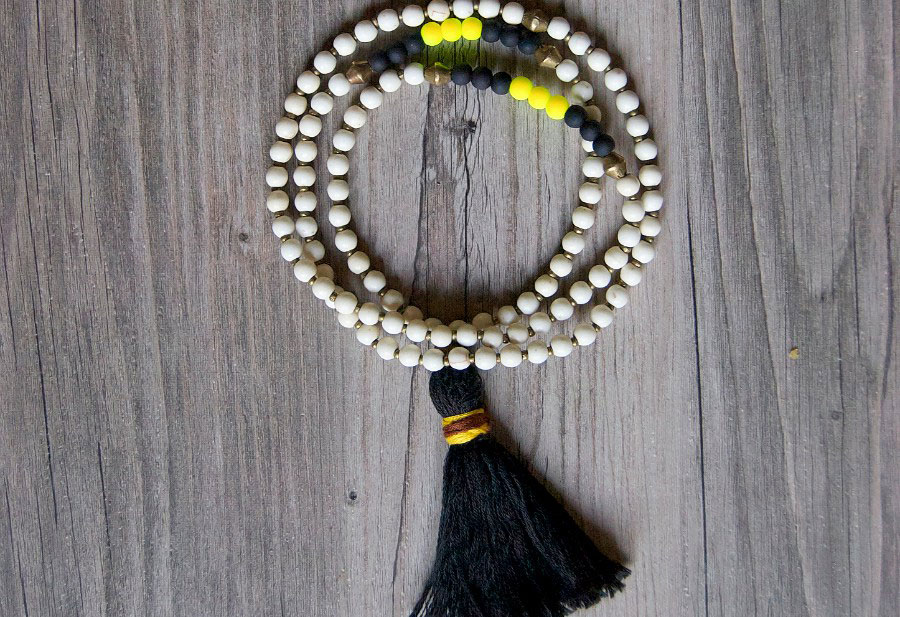 DIY Dupe: Anthropologie Rambla Tassel Necklace