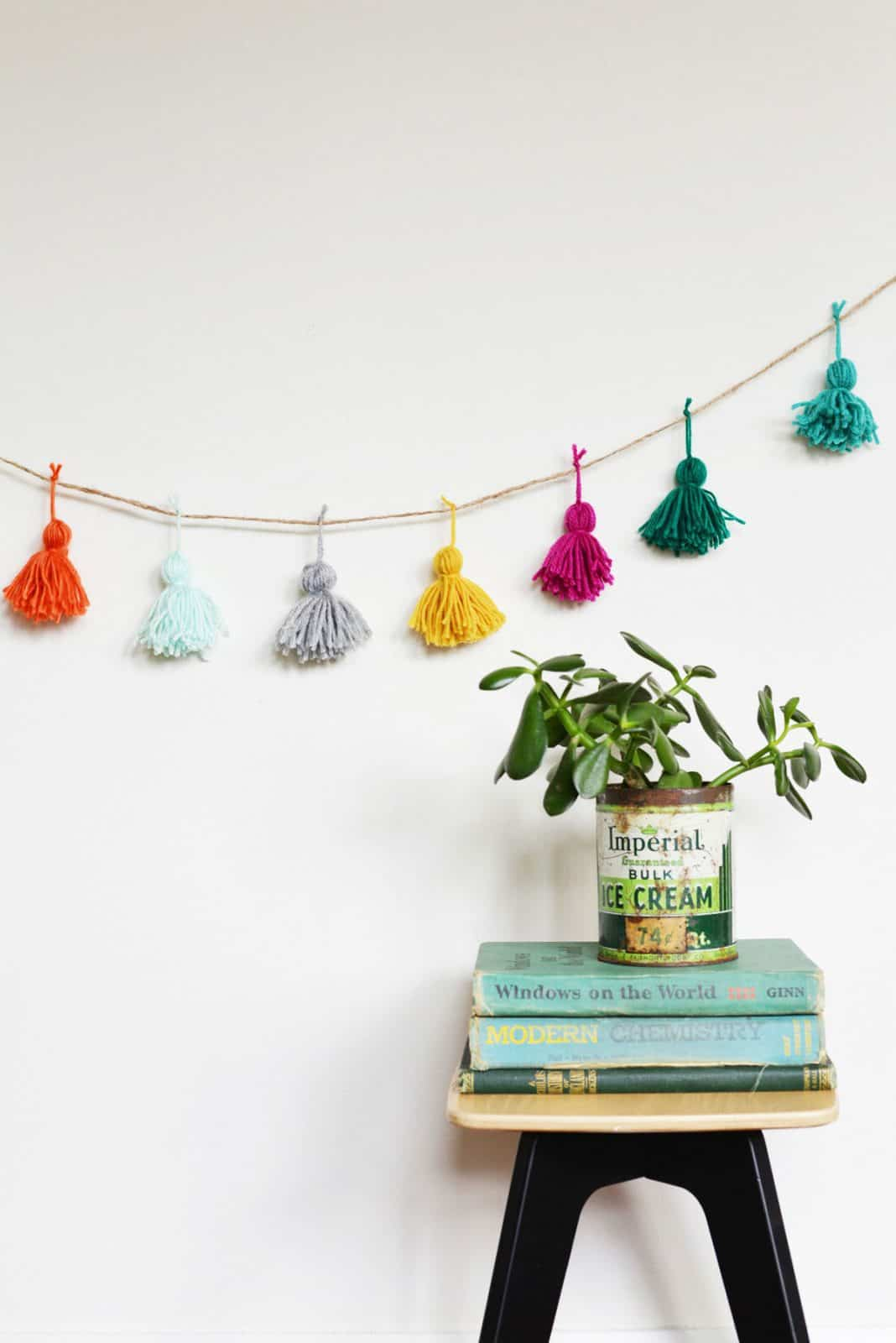 Quick & Crafty: Yarn Tassel Garland
