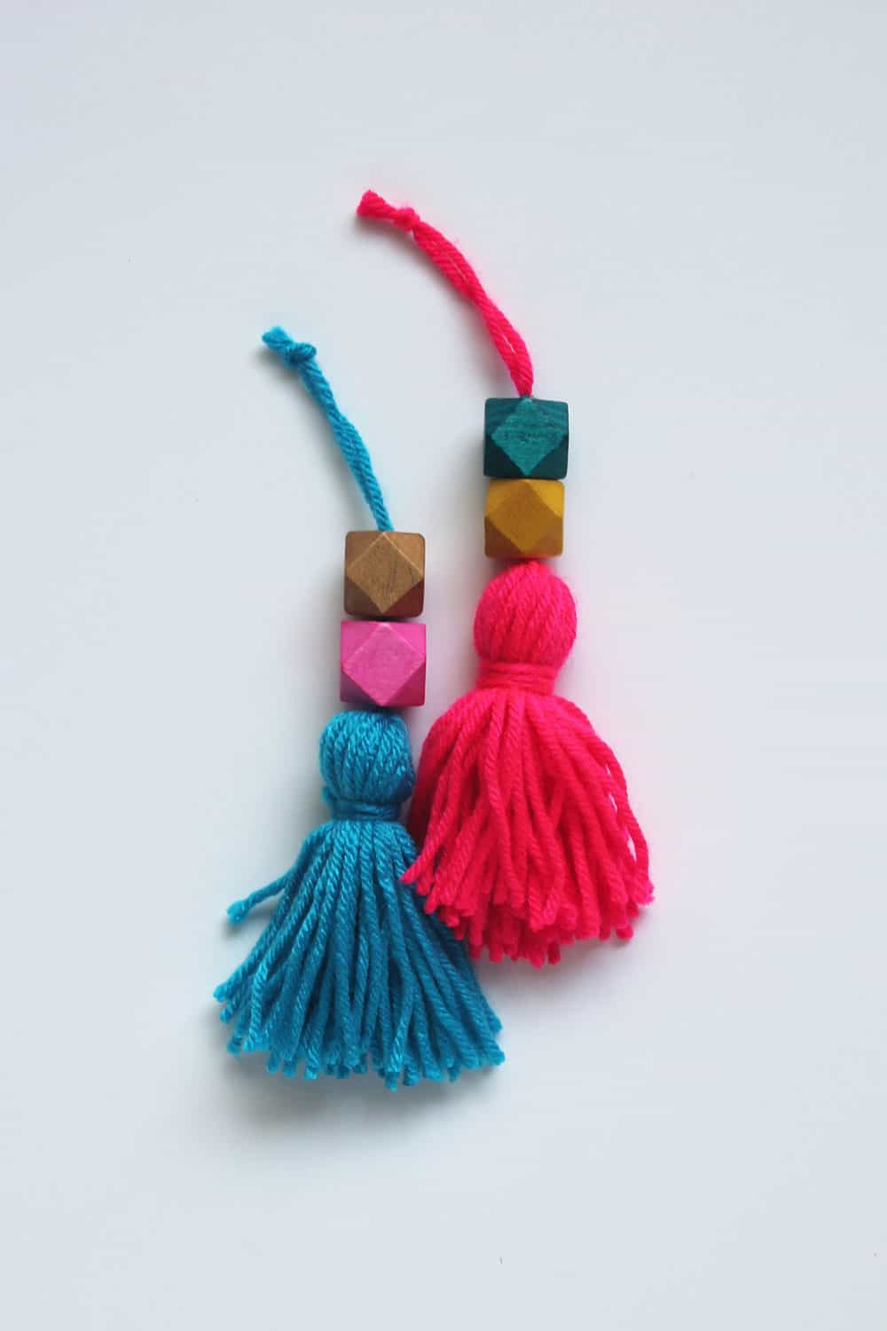 Beaded Tassel Christmas Ornaments
