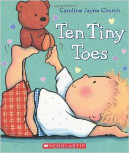 Ten Tiny Toes by Caroline Jayne Church