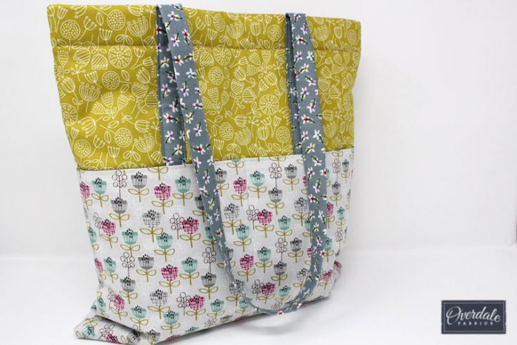 How to Sew a Lined Tote Bag with Front Pockets