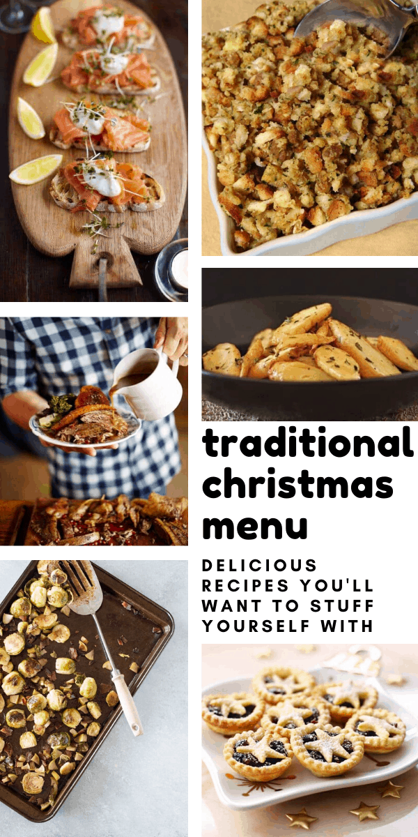 Who knew that creating and making a traditional Christmas dinner menu that my guests will love could be so easy!
