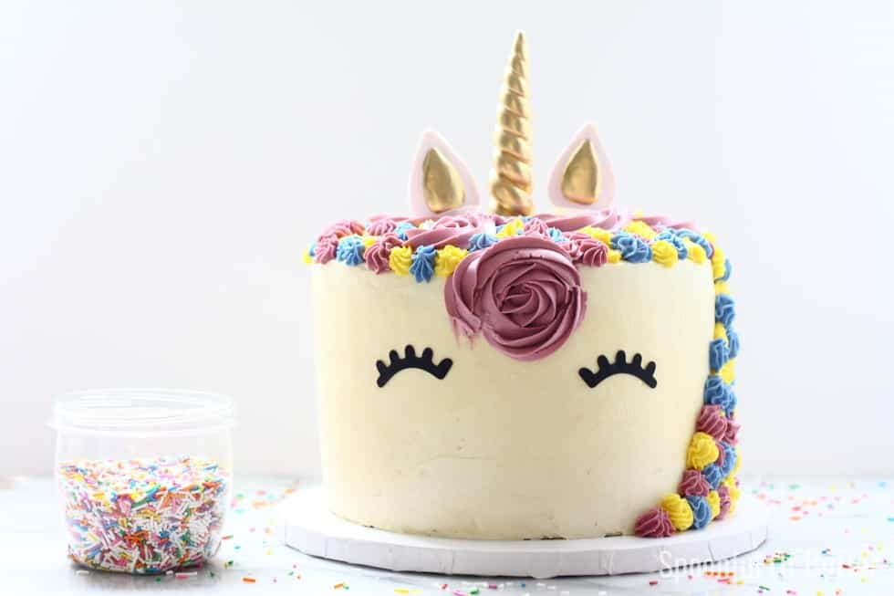 Magical Unicorn Birthday Cake