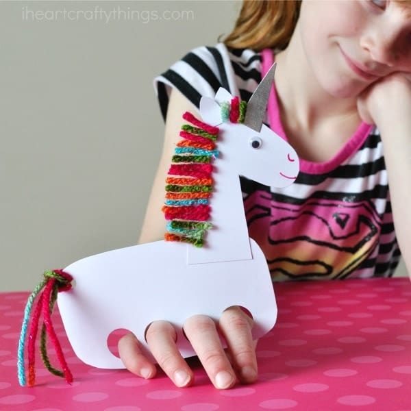 Incredibly Cute and Playful Unicorn Puppets