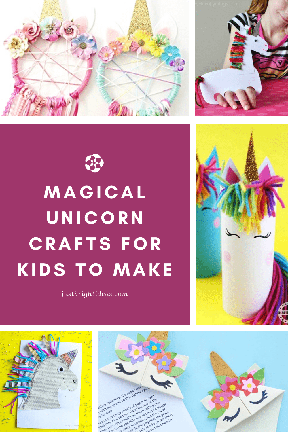 Don't miss these magical unicorn crafts that are perfect for kids of all ages - including moms!
