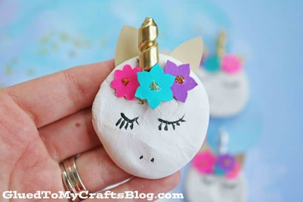 Clay Unicorn Magnets
