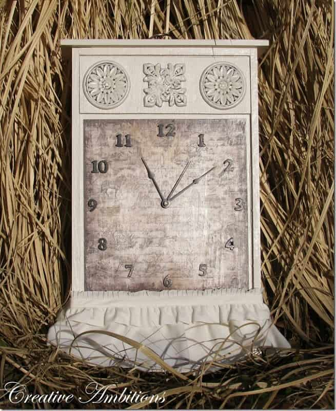 Upcycle an old drawer into a fabulous clock