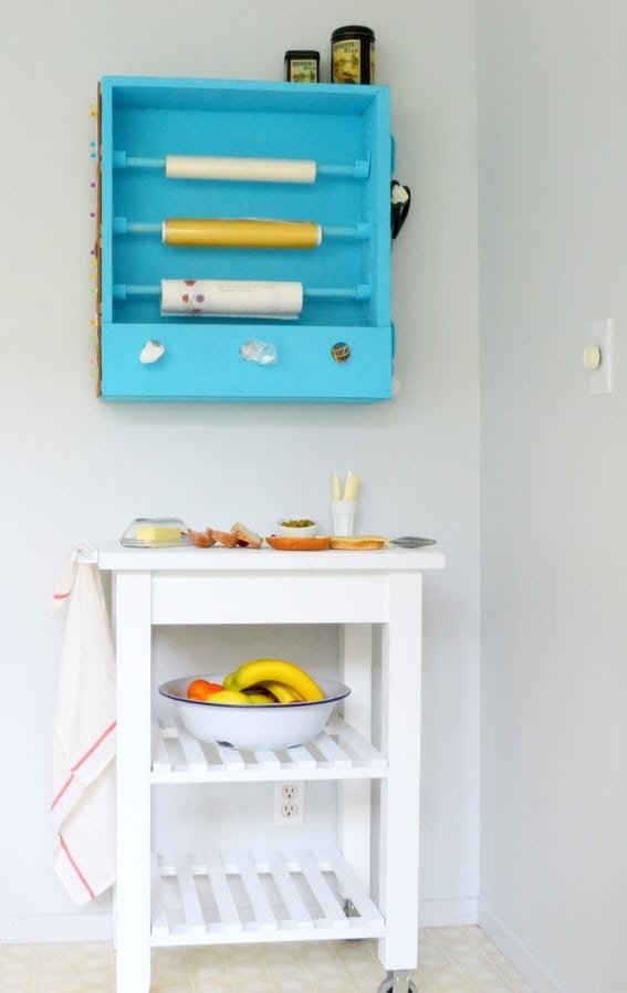 Create yourself a sandwich station from an old drawer