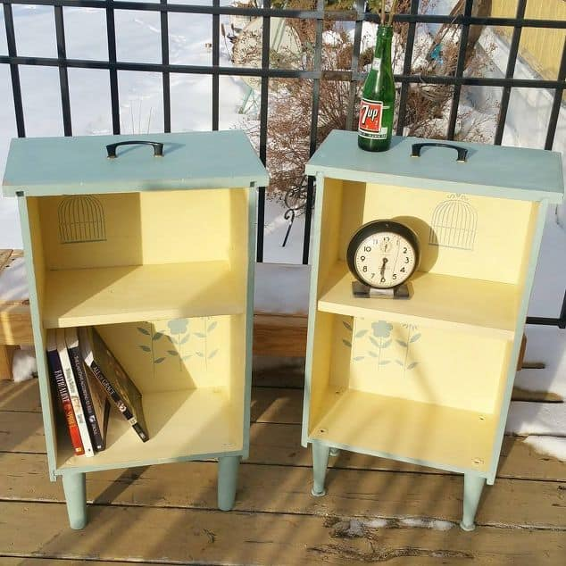 Upcycle your drawers into side tables