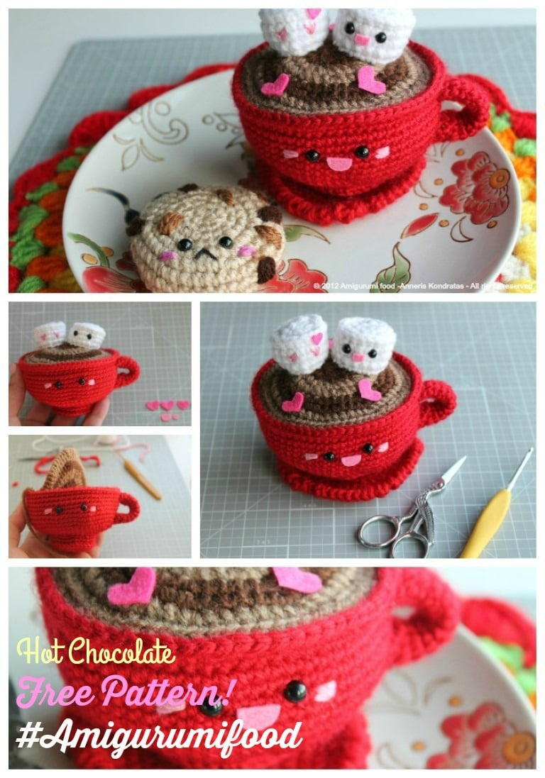 VALENTINE'S DAY HOT CHOCOLATE-FREE PATTERN