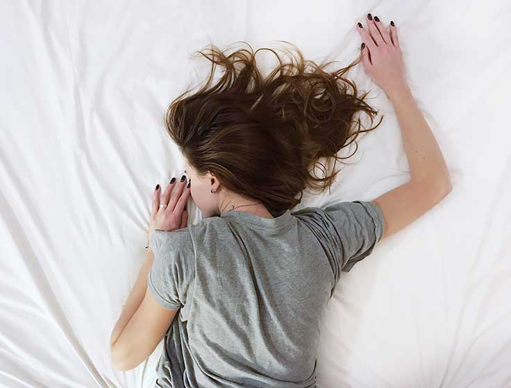 If your sleep is being disrupted because of stress it's a double whammy for your mind and body.