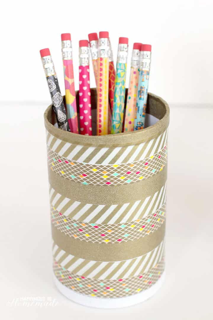 Pencil Pot Makeover