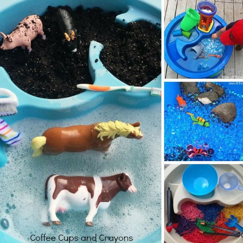 water table sensory play for toddlers