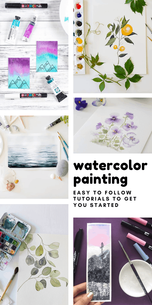 Easy to Follow Watercolor Painting Tutorials to Inspire You to Try Something New