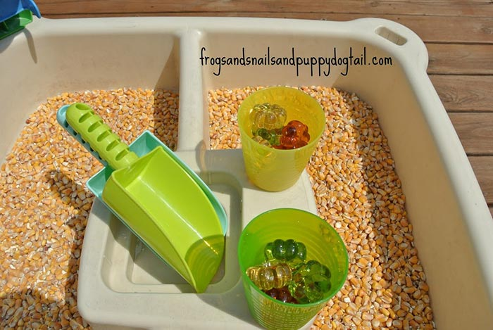 Corn Sensory Play - FSPDT