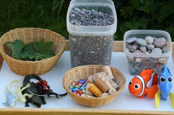 Ocean Sensory Bin - Happy Hooligans