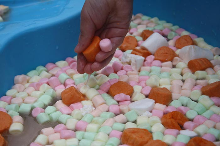 Marshmallow Sensory Play - Fantastic Fun and Learning