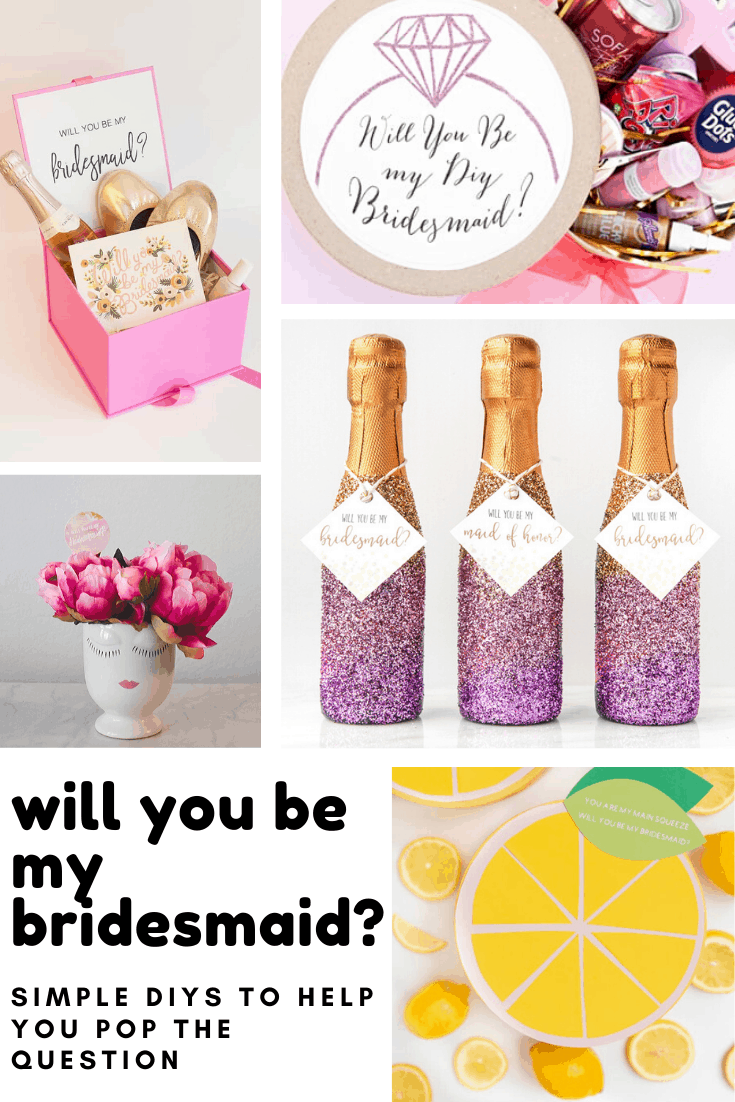 If you're looking for DIY bridesmaid proposals don't miss these creative ways to say Will you be my bridesmaid?