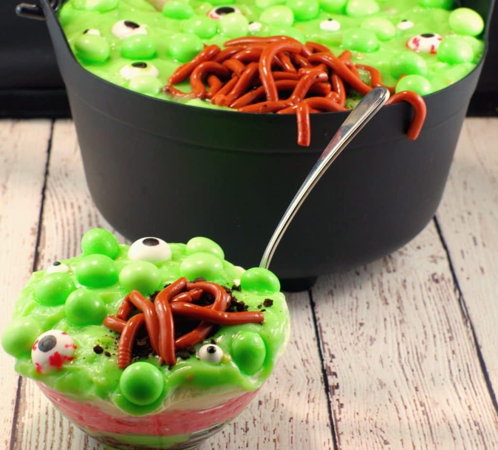 Witches Brew Spumoni Trifle